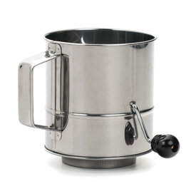 Crank Style Flour Sifter