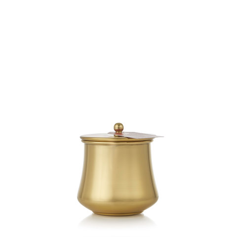 Simmered Cider Gold Kettle Cup Candle