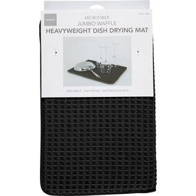 Dish Drying Mat, Black