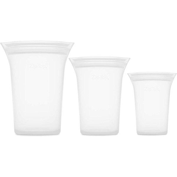 Zip Top 3 Cup Set