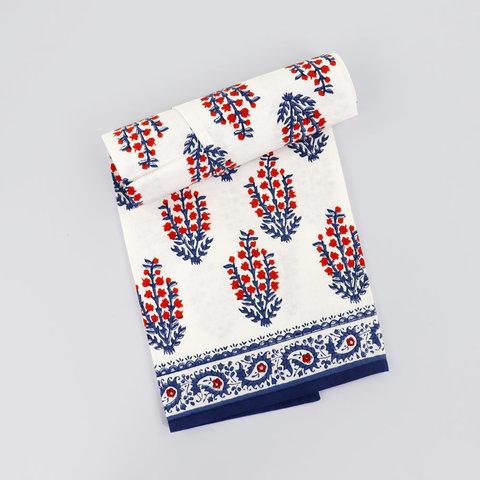 Sagar Red & Blue Tea Towels