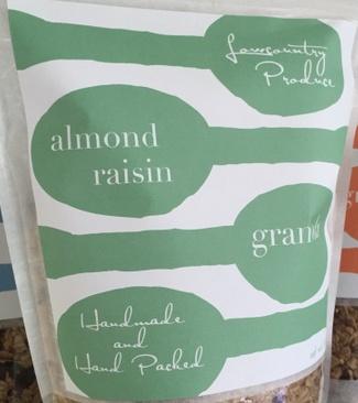 Almond Raisin Granola