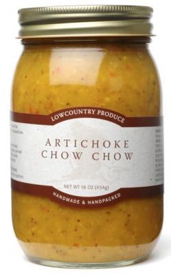 Lowcountry Produce Artichoke Chow Chow