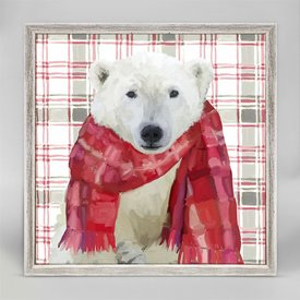 Polar Bear Mini Canvas