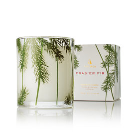 Frasier Fir Pine Needle Design Poured Candle