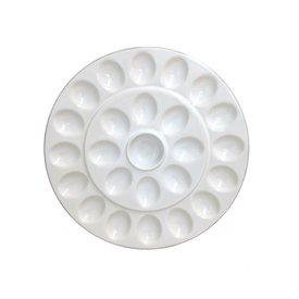 Casafina White Egg Platter