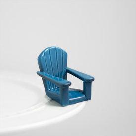 Nora Fleming NF Mini Chillin' Chair Blue