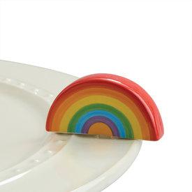 Nora Fleming Mini Over the Rainbow