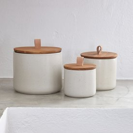 Canister Pacifica Vanilla, Set of 3