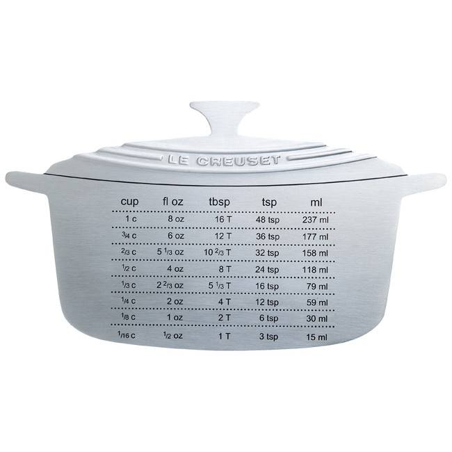 Le Creuset Stainless Steel Measure Magnet