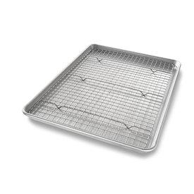 USA Pan Sheet Pan & Baking Rack Set