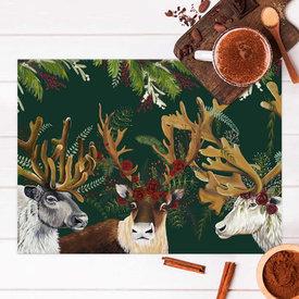 Flora & Fauna Vinyl Placemat