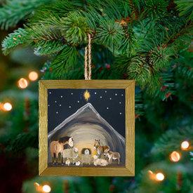 Nativity Manger, Ornament