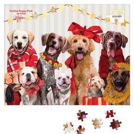 Festive Puppy Puzzle