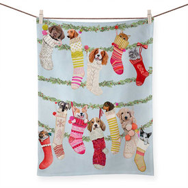 Sweet Stockings Tea Towel