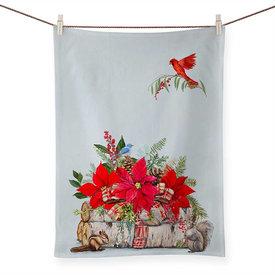 Cozy Christmas Tea Towel