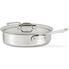 All Clad 5 Qt. Stainless Steel Covered Sauté Pan