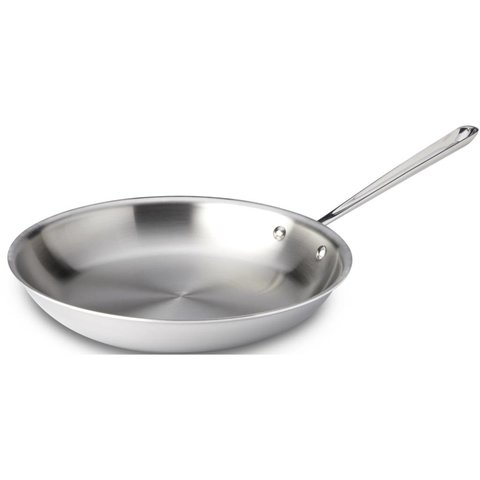 "Stainless Steel Fry Pan 12"""