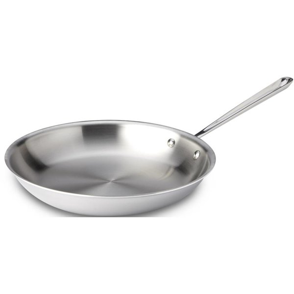"""All Clad Stainless Steel Fry Pan 12"""""""