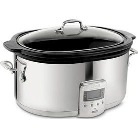 All Clad 6.5 Qt. Stainless Steel Slow Cooker