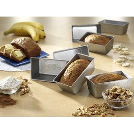 USA Pan Strapped Mini Loaf Pan