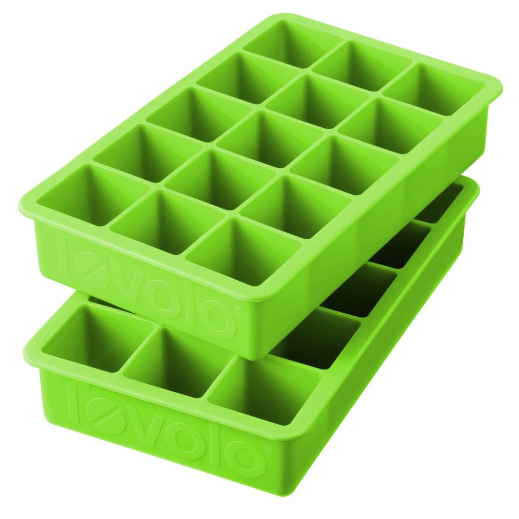 Tovolo Perfect Cube Ice Tray - Green