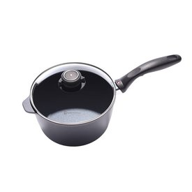 Nonstick Saucepan with Lid - 3.2 qt.