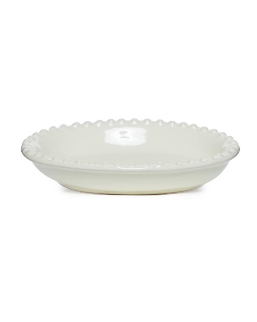 Beaded Soap Dish - Cream