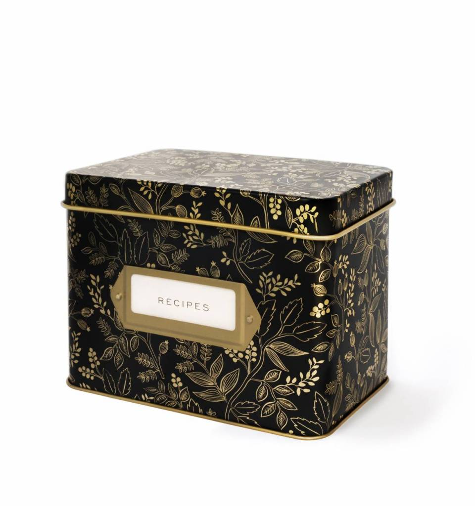 Queen Anne Recipe Box