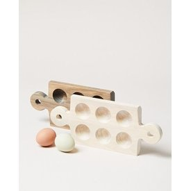 Cornish Half Dozen Egg Board - Grey