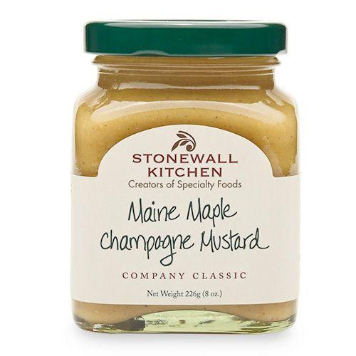 Stonewall Kitchen Maine Maple Champagne Mustard