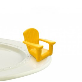 Nora Fleming Mini Chillin' Chair Yellow