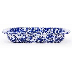 Cobalt Swirl Baking Pan