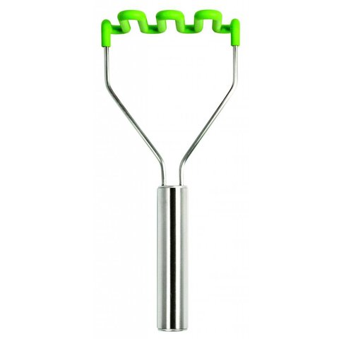 Silicone Potato Masher - Spring Green