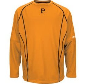 Majestic Majestic Pirates Practice Pullover