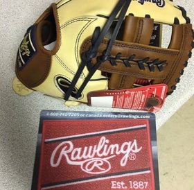 Rawlings Rawlings HOH Glove of the Month NOV 2018 PRO882-19CTI Tan/Brown 11.25'' RHT