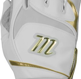 Marucci Marucci Pittards signature batting gloves adult white/gold