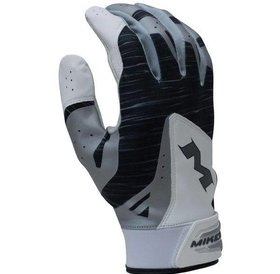 Rawlings Miken Batting Glove MBGL18 WHITE/BLACK