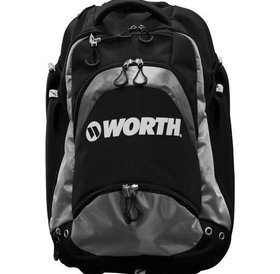 Worth Worth WOXLBP-17 XL Backpack BLACK-GRAY