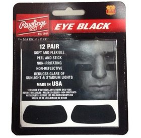 Rawlings Rawlings EB12 Eye Black Patches