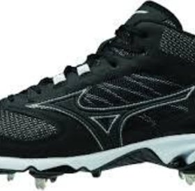 Mizuno Mizuno 9 Spike Dominant IC MID BLACK-WHITE