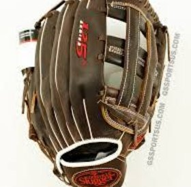 Louisville Slugger LS 125 series slowptich dark brown 13.5' RHT