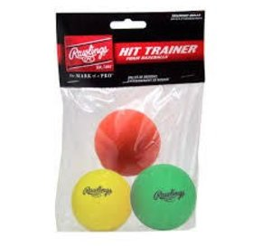 Rawlings Rawlings HITTRAIN hit trainer ball - 3 pack