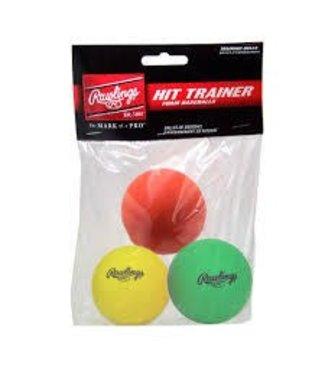 Rawlings Rawlings HITTRAIN hit trainer ball - 3 pack