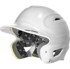 Under Armour Under Armour UABH-100-WHT Batting Helmet OSFA white