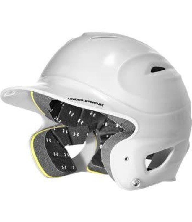 Under Armour Under Armour UABH-100-WHT Batting Helmet OSFA white
