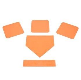 HDB-Canadawide sports HDB orange 5pc Throw down base set