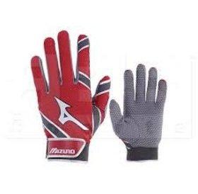 Mizuno Mizuno MVP batting gloves youth red