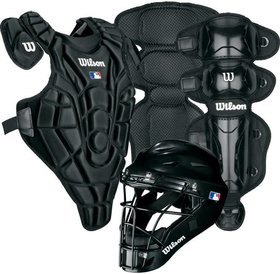 Wilson Wilson EZ Catcher gear Kit S/M ages 5-7 Black