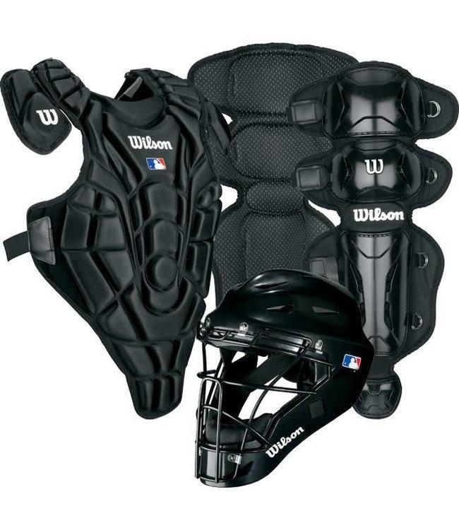 Wilson Wilson EZ Catcher gear Kit S/M ages 5-7 Black